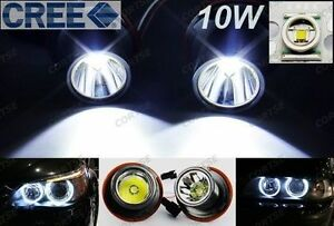 Cree Led Angel Eye Halo Light 10w For Bmw 525i 530i M5 645ci 650i 750i 760i 135