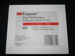 3m Empore Mixed Phase Cation Mpc 96 well Extraction Disc Plate 6030
