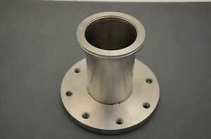 Stainless Steel Flange Adapter 98mmid 130mmd Lf To 230mmd Iso