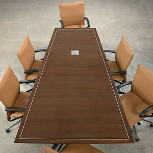 6 24 Conference Room Table Modern Boardroom Meeting Designer Office Usa Made