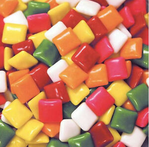 Dubble Bubble 6flvr Tab Gum Vending Ford Chiclets Candy 5400pcs 13lb 6 16kg Bulk