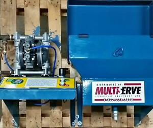 Myers Waste Oil Transfer Pump Station With Wall Mount Funnel