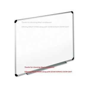 48 36 Melamine Dry Erase Whiteboard Universal Office Tray Message Board