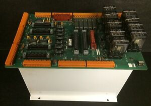 Hurco Knee Mill Relay Board 415 0144 901 Rev B Panel 2 From A Working Machine