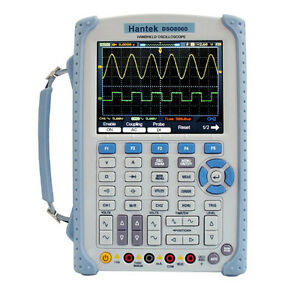 60mhz 5 in 1 Handheld Portable Oscilloscope W digital Multimeter Hantek Dso 8060