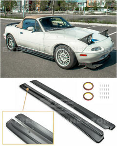 For 90 97 Mazda Miata Mx 5 Na Jdm Fd Style Side Skirt Rocker Panels Extension