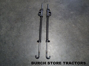New Farmall Back Rear Cultivator Spring Lift Rods 140 130 Super A 100 Tracto