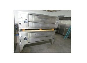 Bakers Pride Y600 Double Deck Pizza Oven Natural Gas
