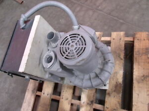 Fuji Electric Regenerative Vacuum Blower Model Vfc500a 7w