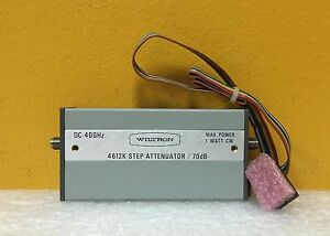Wiltron anritsu 4612k Dc To 40 Ghz 2 92mm Programmable Step Attenuator Cable