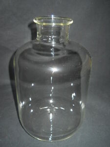 Unbranded 2000ml 2l Glass Reagent Bottle 51mm Id Neck