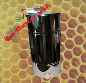 Pro schoice Best Honey Extractor 2 Frame Stainless Steel With Plastic Honey Gate
