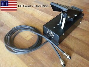 Tig Foot Pedal Control On off Current Control 2 Pin 3 Pin Plug us Ship