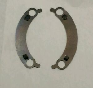 Muncie 4 Speed Front Bearing Retainer French Lock Tabs Plates Wt 297f New