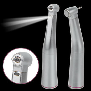 Us Dental Led 1 5 Increasing Contra Angle Handpiece Fiber Optic Light Fit Nsk Ce