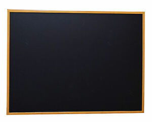 36 x 48 Wood Framed Black Magnetic Chalkboard