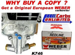 K746 Toyota 20r 22r Weber Carb Conversion Kit Weber 32 36 Dgev Carb 1 Yr War