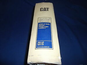 Cat Caterpillar 933c 939c Hystat Track Loader Service Shop Repair Book Manual