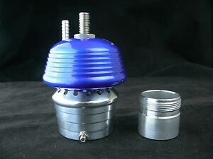 Blue Very Loud Blow Off Valve For Turbo System S Max Billet Aluminum Piston Bov