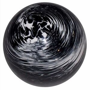 Marbled Black With White Shift Knob 5 16 24 Thread U S Made