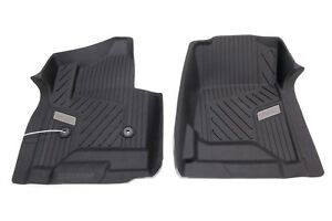 Oem New Premium All Weather Floor Mats Front Black 14 16 Sierra Yukon 84073616