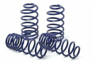 H r 51690 Sport Lowering Spring For Ford 2011 14 Mustang convertible gt V6 v8