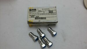 Parker Sh2 63y Fitting Quick Coupler 5 Per Box order s 20 4