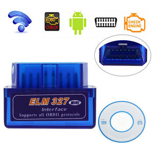 Elm327 Odb2 Odb Ii Wireless Bluetooth V2 1 Car Auto Diagnostic Scanner Scan Tool