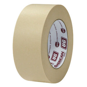 American Ug 18mm 3 4 Automotive Masking Tape Quick Stick Panel Adhesion 48 Roll