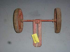 Vintage Gravely Rotary Plow 20 Wheel Attachment needs Restoration