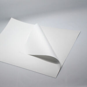 A4 Glossy White Self Adhesive Sticker Typing Paper Sheet For Laser Printer