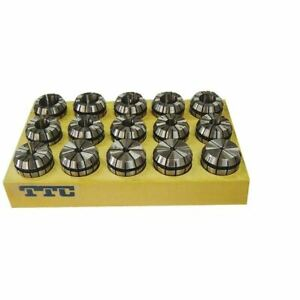 Ttc Ter25s 15 Pc 1 16 5 8 Er25 Collet Set