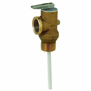 Case Of 10 Brass Hot Water Tank Pressure Relief Valve Pop off Valve