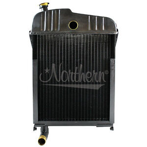 New Radiator For Farmall Ihc Mccormic H Super H O 4 Os 4