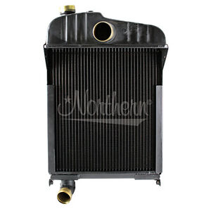 New Radiator For Farmall Ihc Mccormick M md mv sm w6 o6