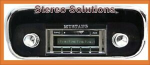1967 1973 Ford Mustang New Am Fm Stereo Radio Usa 230 200 Watts Auxiliary In