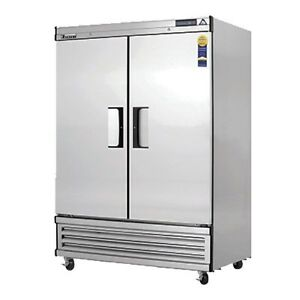 Everest Ebf2 d Deep 2 Door Reach In Freezer 54 25
