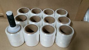5 x1000 Hand Stretch Film Wrap 12 Rolls Included