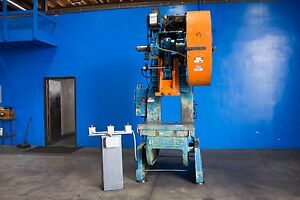 85 Ton Rousselle Mdl 8 Punch Press Obi Metal Forming Fabricating 4 Stroke
