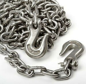 G70 5 16 X 14ft Tow Chain Automotive Truck Towing Log Chain
