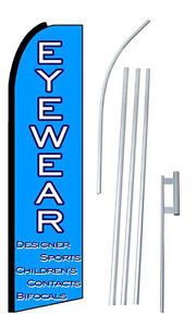 Eyewear Extra Wide Swooper Flag Kit
