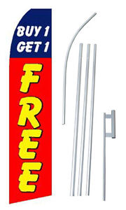 Buy 1 Get 1 Free Swooper Flag Kit