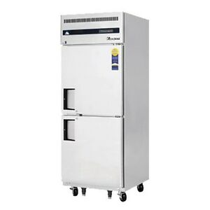 Everest Esfh2 Single Solid Split Door Upright Reach in Freezer 29 25