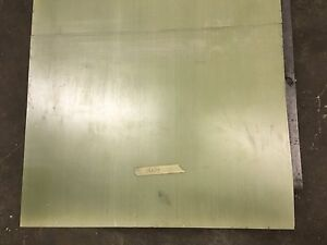Garolite G 10 Plastic Laminate glass Epoxy Phenolic Sheet 3 X 18 X 24