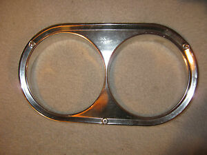 Nos Mopar 1960 62 Plymouth Valiant Left Head Light Bezel