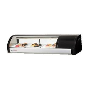 Everest Esc47r Countertop Refrigerated Sushi Display Case 47 25