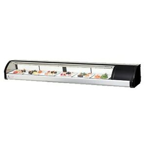 Everest Esc83r Countertop Refrigerated Sushi Display Case 82 75