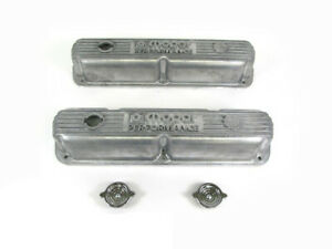 Mopar Performance 318 340 360 Small Block Engine Aluminum Valve Covers Oem New