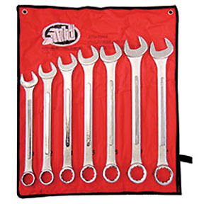 Jumbo Metric Combination Wrench Set 7 Pc Atd Tools 1006 Atd