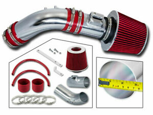 Short Ram Air Intake Kit Red Filter For 04 07 Honda Accord 2 4l L4 Dx lx ex se